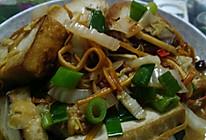 金针菇焖豆腐的做法