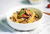 香菇炒鸡蛋#快手又营养,我家的冬日必备菜品#的做法
