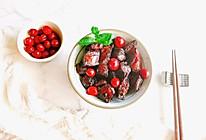 """蔓越莓秘制红烧肉#""""莓""""好春光日志#的做法"""