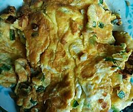葱花煎土鸡蛋的做法