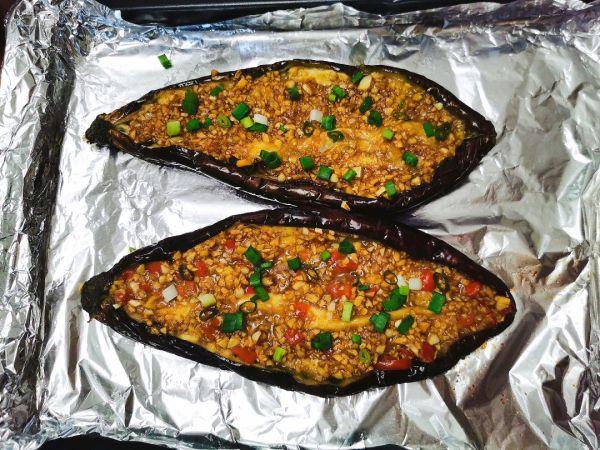 烤箱版烤茄子的做法