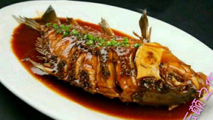 年夜饭必备(红烧鱼)