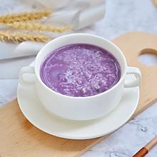 迷人色彩紫薯粥