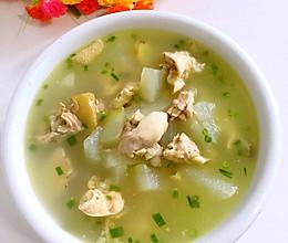 冬瓜炖鸡汤的做法