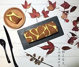花纹巧克力奶油蛋糕卷的做法