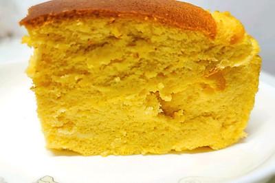 南瓜古早蛋糕