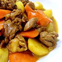 土豆炖鸡块的做法图解10