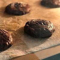 #带着美食去踏青#淡奶油巧克力软曲奇的做法图解5