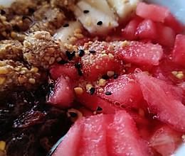 水果糍粑冰粉的做法