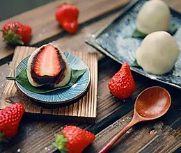 草莓大福 | 菜菜的美食日记的做法