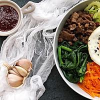 五彩韩式拌饭#520,美食撩动TA的心!#的做法图解11