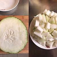 冬瓜蛤蜊汤的做法图解2