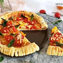 圣女果披萨+#有颜值的实力派#