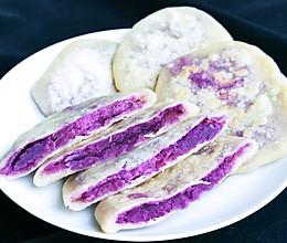 无油无糖低脂紫薯饼的做法
