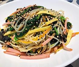 #我们约饭吧#上桌秒光的韩式拌杂菜的做法