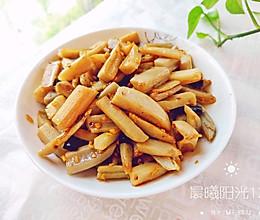 #轻饮蔓生活#干辣椒炒藕条的做法