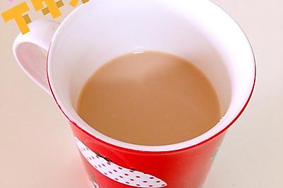 三分钟自制普洱奶茶~好味!不怕胖!