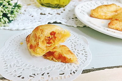 简单快手蛋挞皮做的菠萝派 小吃早餐下午茶 附馅料做法