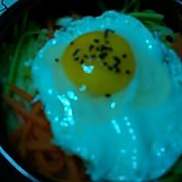 韩式石锅拌饭的做法图解3