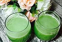 瘦身果蔬汁--黄瓜菠萝汁的做法