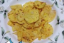 微波炉薯片(无油版)的做法