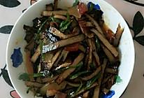 酱炒卤豆干的做法