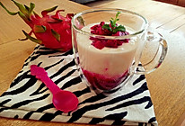 火龙果酸奶昔的做法