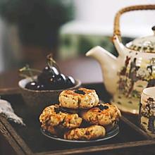 中式茶点-植物油版核桃酥
