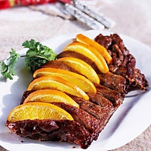 香橙烤鸭胸——烤箱食谱