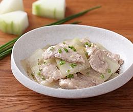 冬瓜炒猪肉的做法