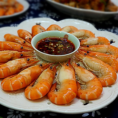 私房盐水虾