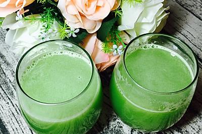瘦身果蔬汁--黄瓜菠萝汁
