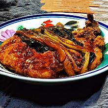 上海人的家常菜~葱烤大排