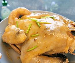 最简单方便的葱油鸡的做法