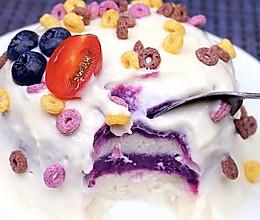 低脂减肥蛋糕无糖无油无面的做法