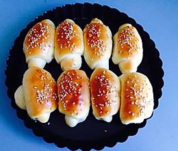 宝宝牛角小面包的做法