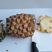 【巧切菠蘿】——不到2分鐘就搞定的做法圖解2