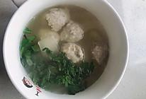 冬瓜鸡胸肉丸子汤的做法