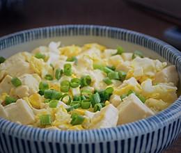 #花10分钟,做一道菜!#鸡蛋炖豆腐的做法