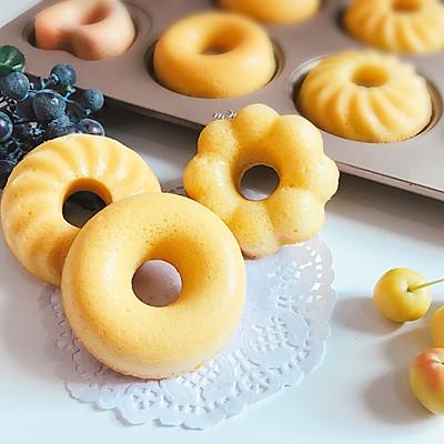 萌萌哒甜甜圈蛋糕 全蛋打发不会回缩