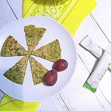 8个月以上辅食–紫菜胡萝卜煎蛋饼