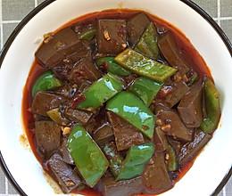 辣味血豆腐的做法
