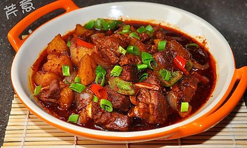 香辣羊锅的做法