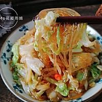 家常下饭菜--白菜炒粉条的做法图解11