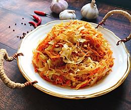 圆白菜这样炒营养又美味: 家常小炒的做法
