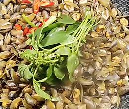 豆酱焖薄壳(海瓜子)的做法