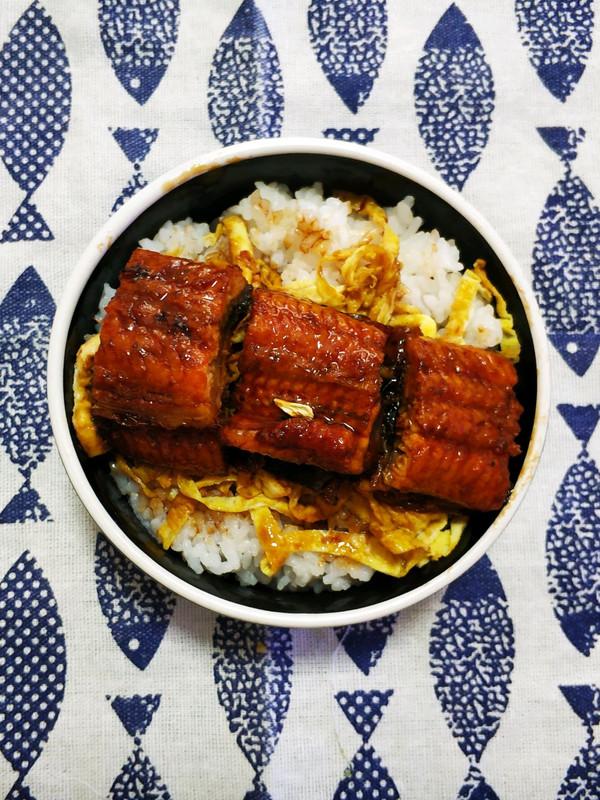 日式简餐~照烧鳗鱼饭的做法