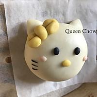 Hello Kitty猫一家人----卡通包子(豆沙馅)的做法图解15
