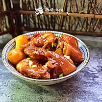 香辣土豆焖猪蹄
