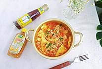 #太太乐鲜鸡汁芝麻香油#番茄鸡蛋面的做法